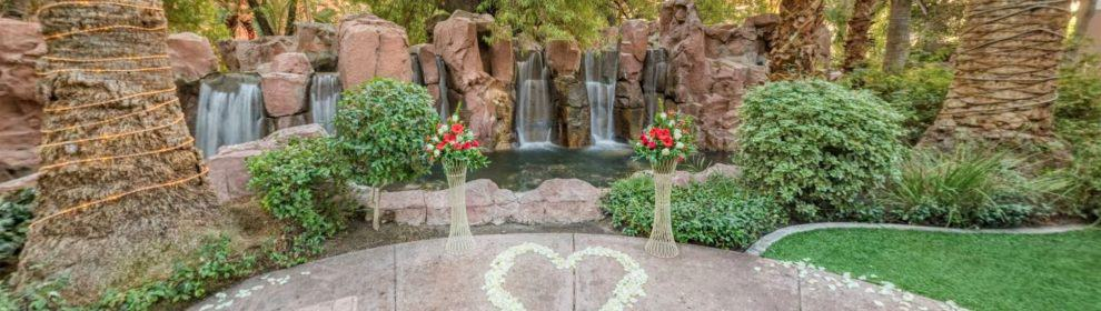 Paradise Falls Chapel At Flamingo Las Vegas