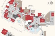 Sands Expo Convention Center Hotel Casino Map