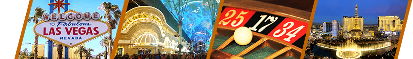 Las Vegas Travel Hub Header Panes